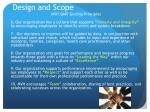 design and scope3
