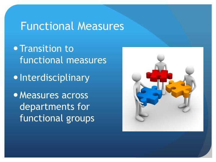 Functional Measures