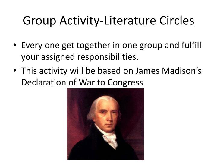 Group Activity-Literature Circles