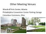 other meeting venues