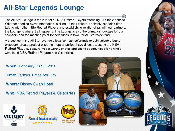 All-Star Legends Lounge