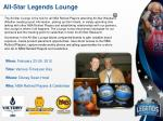 all star legends lounge