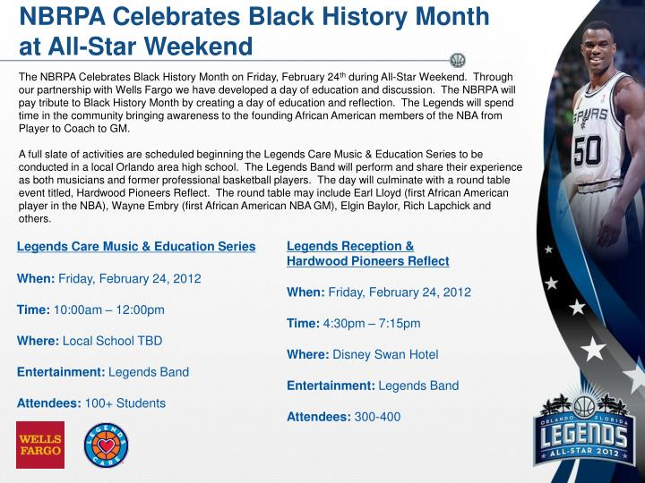 NBRPA Celebrates Black History Month
