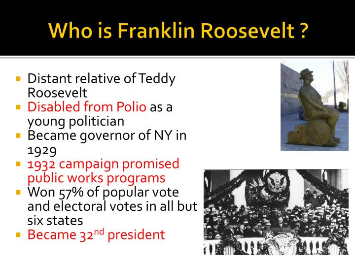 Who is franklin roosevelt