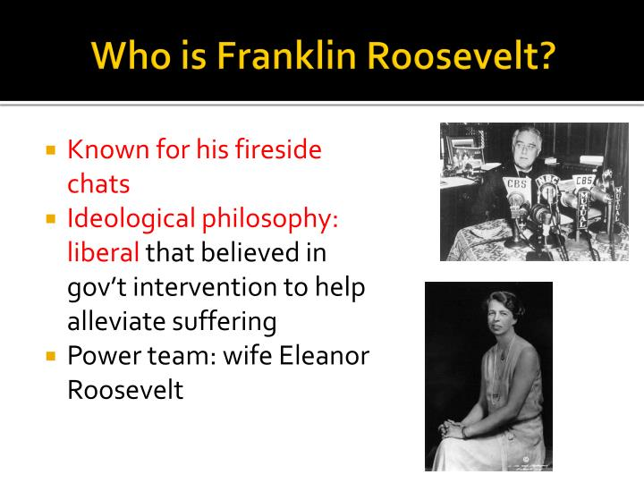Who is Franklin Roosevelt?