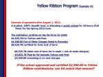 yellow ribbon program example 2