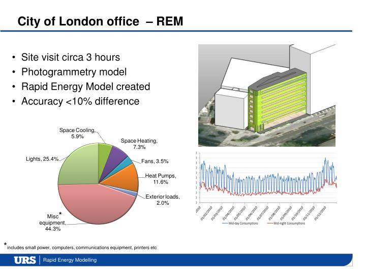 City of London office  – REM