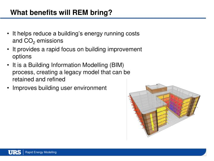 What benefits will REM bring?