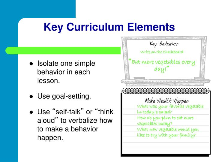 Key Curriculum Elements