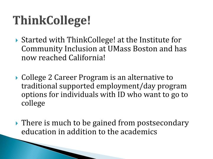 ThinkCollege