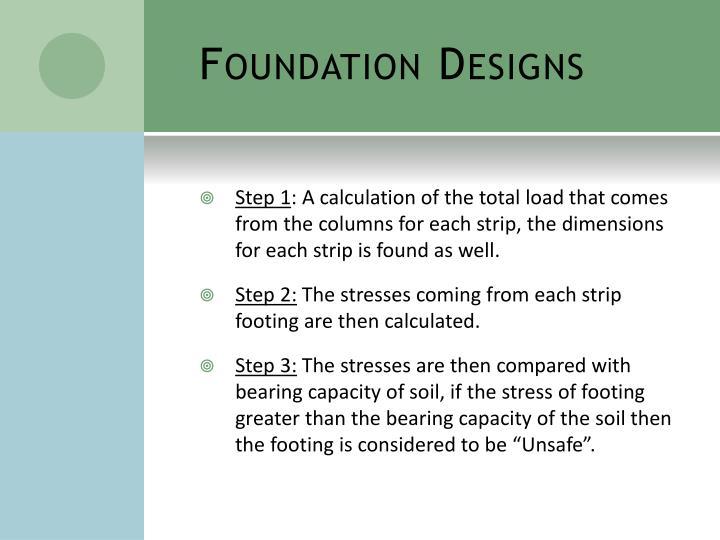 Foundation Designs