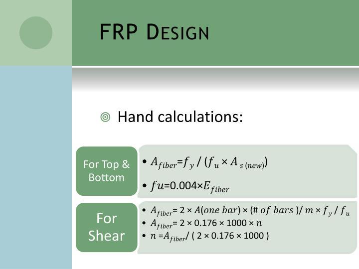 FRP Design