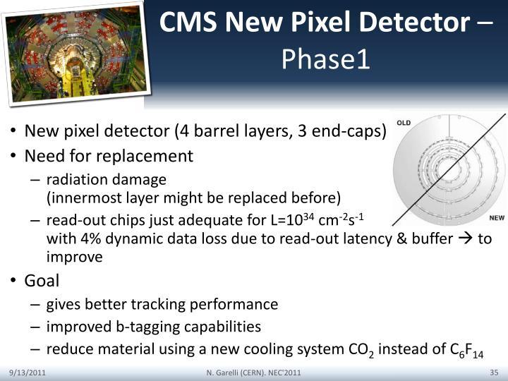 CMS New Pixel Detector