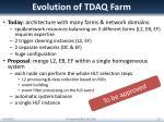 evolution of tdaq farm