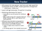 new tracker