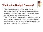 what is the budget process1