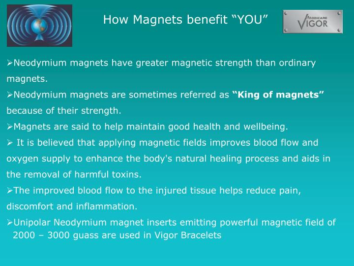 "How Magnets benefit ""YOU"""