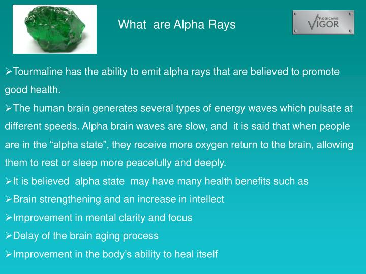 What  are Alpha Rays