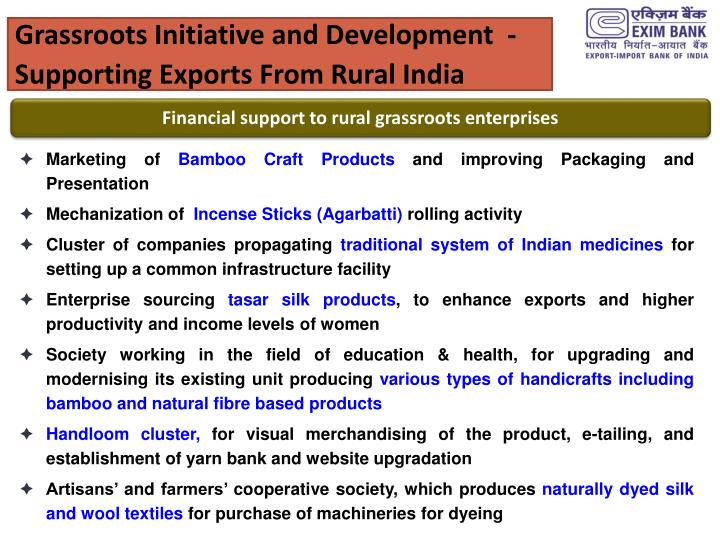 Grassroots Initiative and Development  -