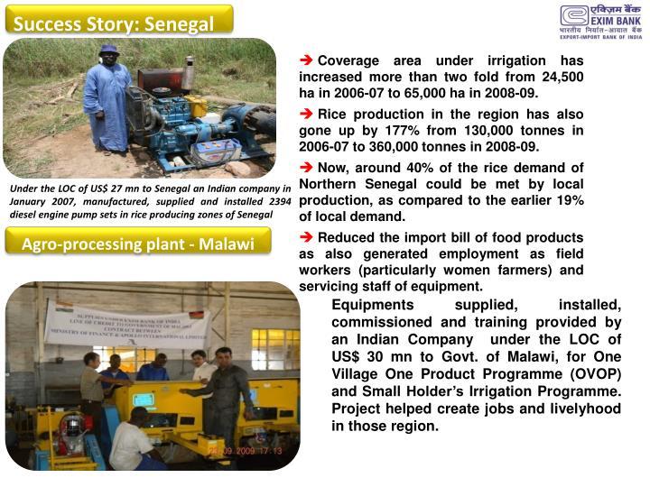 Success Story: Senegal