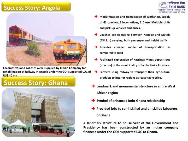 Success Story: Angola