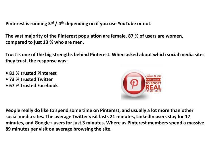 Pinterest is running 3