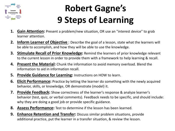Robert Gagne's