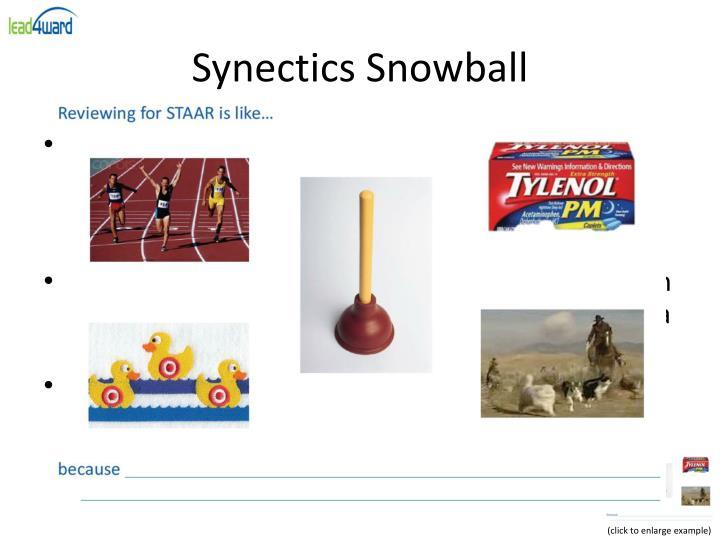 Synectics Snowball