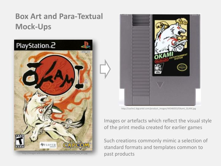 Box Art and Para-