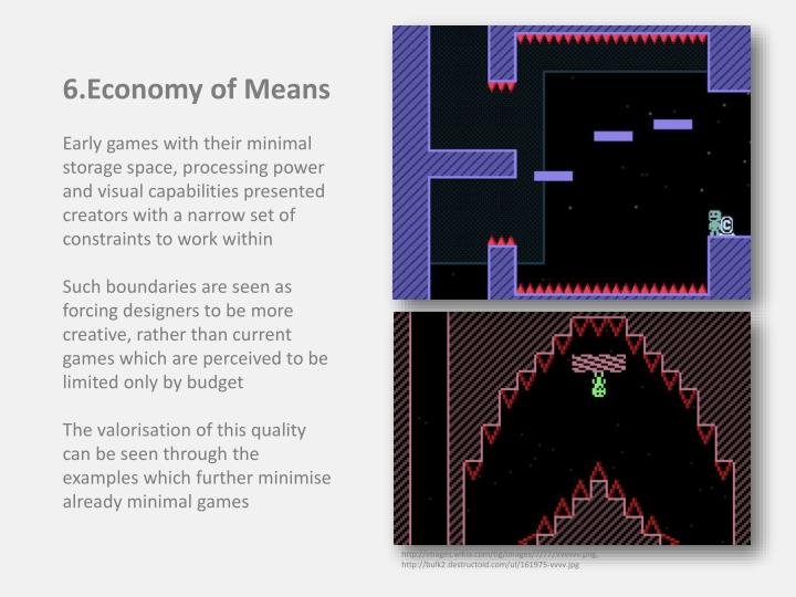 6.Economy of Means