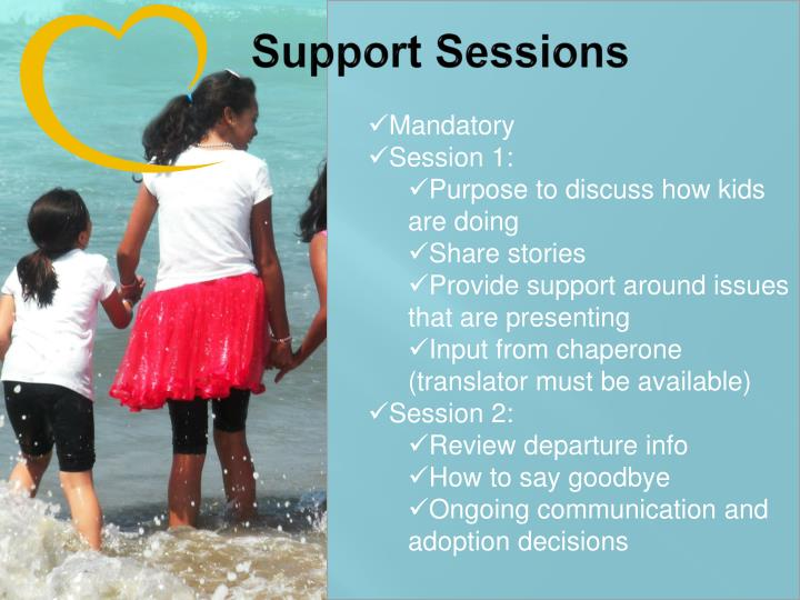 Support Sessions