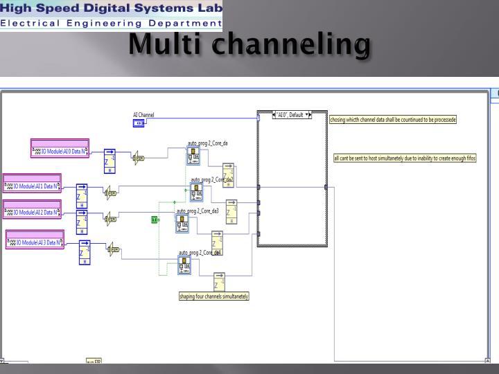 Multi channeling