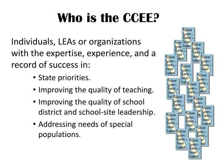 Who is the CCEE?