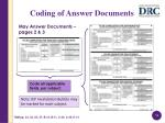 coding of answer documents1