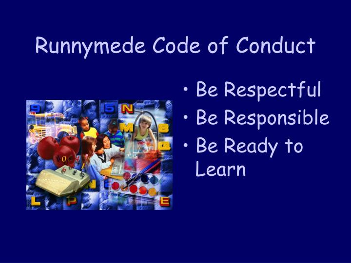 Runnymede Code of Conduct