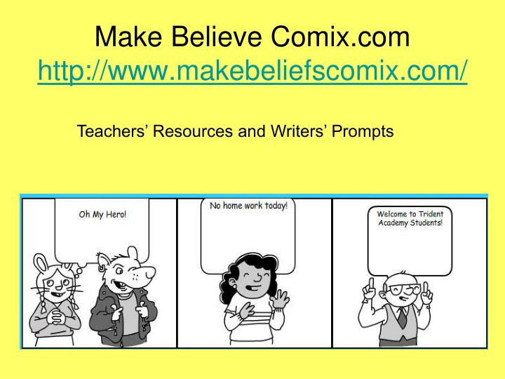 Make Believe Comix.com