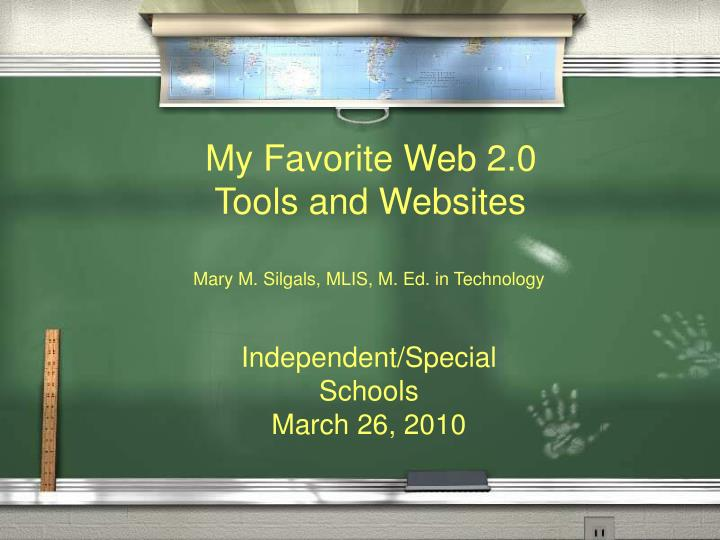 My Favorite Web 2.0