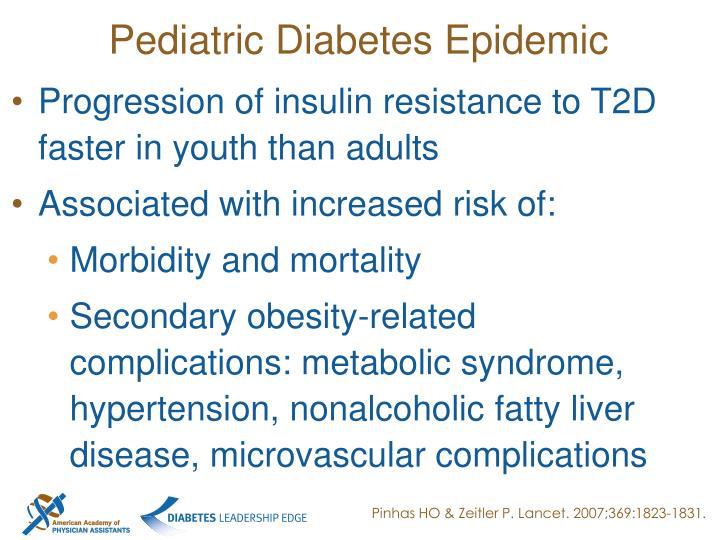 Pediatric Diabetes Epidemic