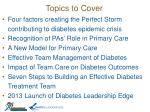 topics to cover1