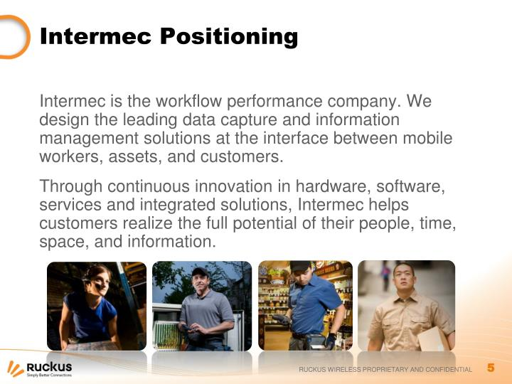 Intermec Positioning