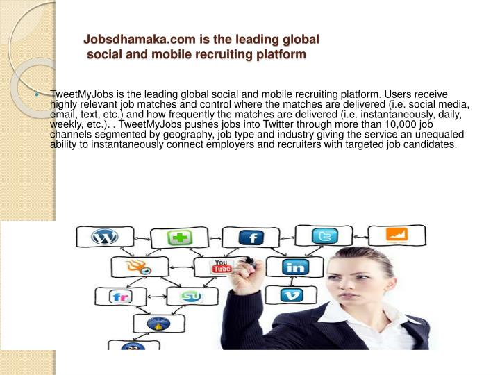 Jobsdhamaka.com is the leading global