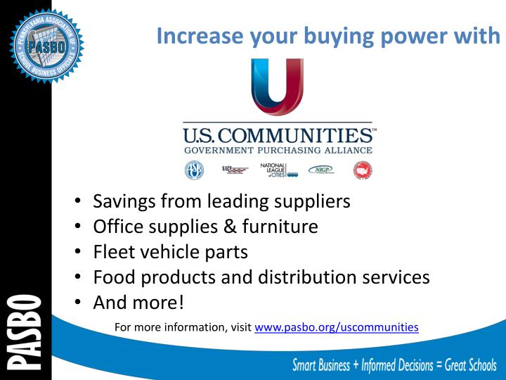 Increase your buying power with