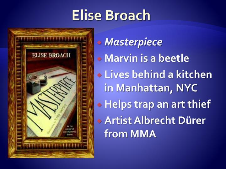 Elise Broach