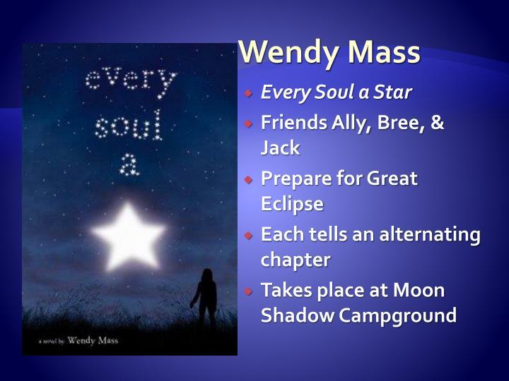 Wendy Mass