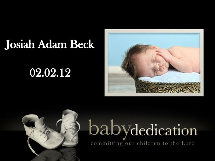 Josiah Adam Beck
