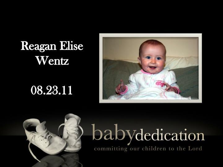 Reagan Elise Wentz