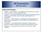 ap economics mr bernstein6