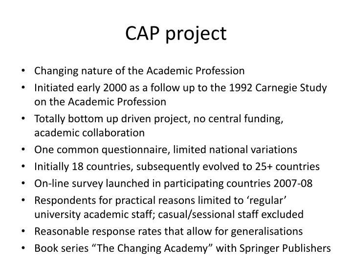 CAP project