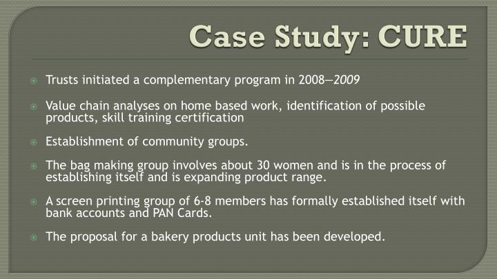 Case Study: CURE