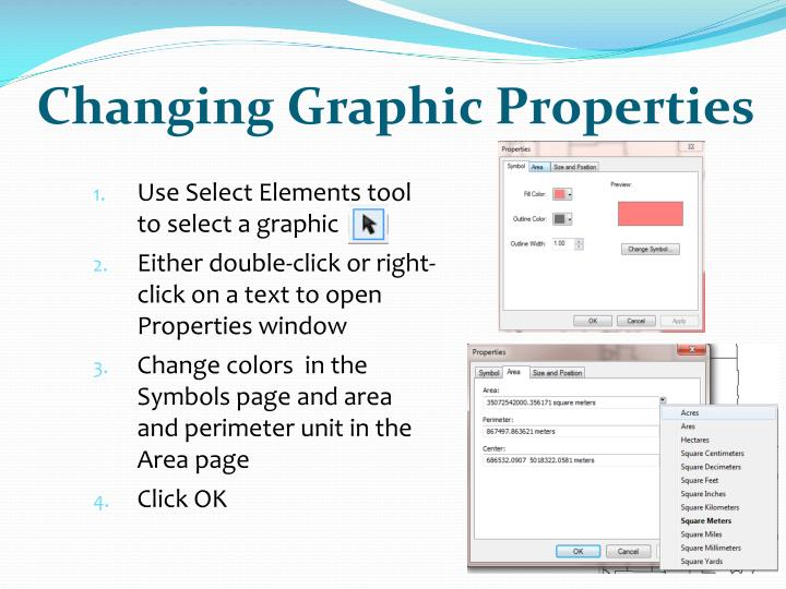 Changing Graphic Properties